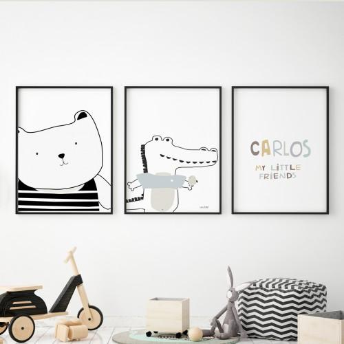 pósters infantiles lamina